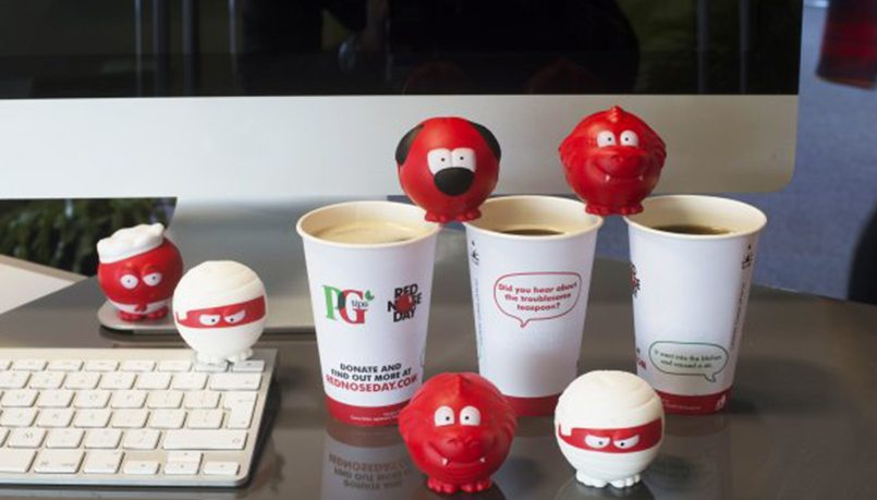 PG Tips Red nose day