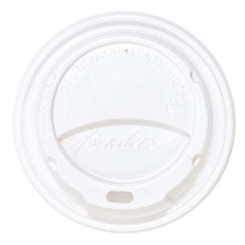 Disposable coffee cup lid |White Hot Cup Lid| Biodegradable Cup Lid| Snug fit for 4oz Coffee Cups (Case x 1000)